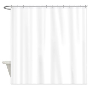solid blue shower curtains cafepress