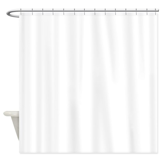 silhouette of woman shower curtain