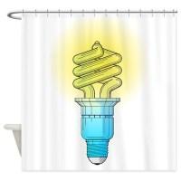 Fluorescent Shower Curtains | Fluorescent Fabric Shower ...