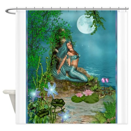 Best Seller Merrow Mermaid Shower Curtain By Thejersey