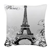 Eiffel Tower Pillows, Eiffel Tower Throw Pillows ...