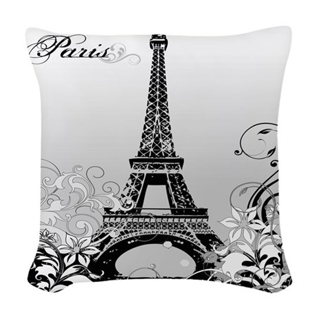 Eiffel Tower Pillows Eiffel Tower Throw Pillows