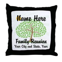 Family Reunion Pillows, Family Reunion Throw Pillows ...
