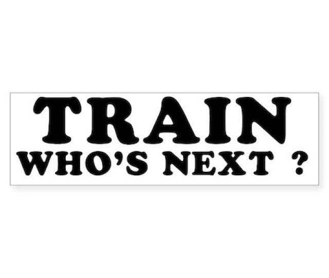 Train Sticker Bumper