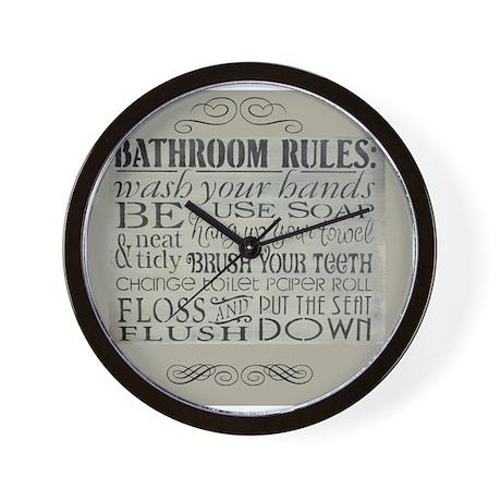 Bathroom Clocks  Bathroom Wall Clocks  Large Modern