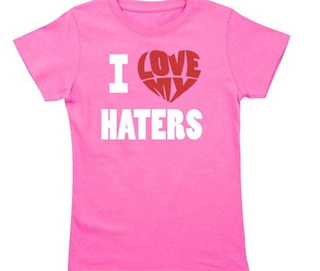 My Haters 2 Girls Tee