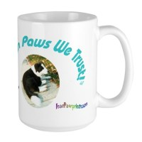 Mugfor the Really Big Dog and Coffee Lover by pawprintsshop