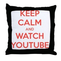 Youtube Pillows, Youtube Throw Pillows & Decorative Couch ...