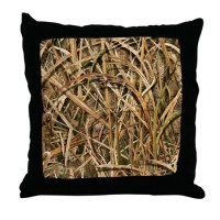 Great Camouflage Throw Pillow by PacificCoastDesigns