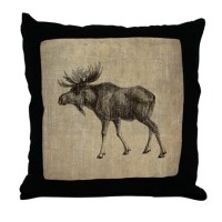 Moose Pillows, Moose Throw Pillows & Decorative Couch Pillows