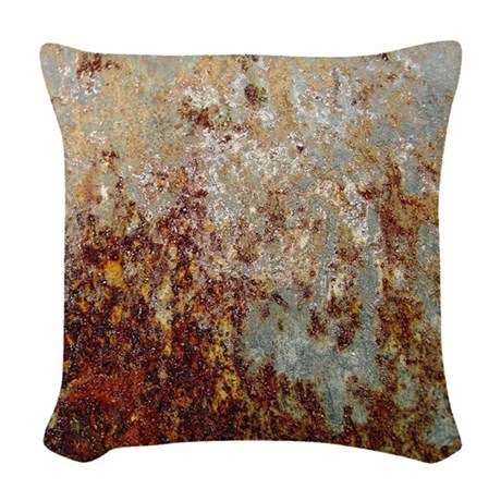 Rust Woven Throw Pillow by ADMIN_CP68744922
