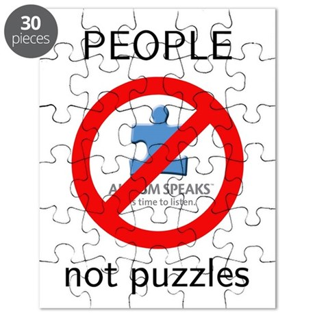 autism: people, not s Puzzle