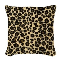 Leopard Print Woven Throw Pillow by Admin_CP72600202