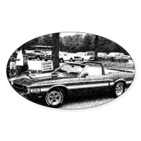 Shelby Mustang Bumper Stickers