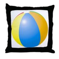 Beach Ball Pillows, Beach Ball Throw Pillows & Decorative ...