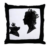 Queen Elizabeth Ii Pillows, Queen Elizabeth Ii Throw