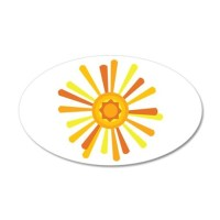 Summer Sun Wall Decal by Hopscotch2