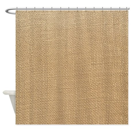 Canvas Shower Curtain by NaturesLittleTreasures