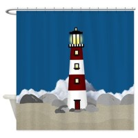 Lighthouse Shower Curtain by ellejai