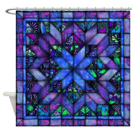 Quilting Shower Curtains  Quilting Fabric Shower Curtain Liner