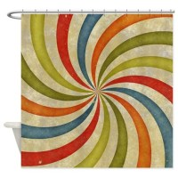 Muted Colors Shower Curtains | Muted Colors Fabric Shower ...