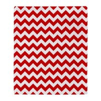 Red Chevron Throw Blankets, Red Chevron Fleece Blankets ...