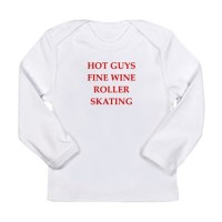 roller skating, Long Sleeve Infant T-Shirt roller skating ...
