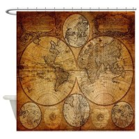 Old World Shower Curtains | Old World Fabric Shower ...