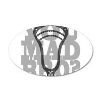 Lacrosse YouMadBro Wall Decal by mmdg