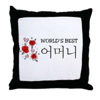 Korea Culture Pillows, Korea Culture Throw Pillows