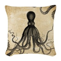 Octopus Pillows, Octopus Throw Pillows & Decorative Couch ...