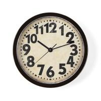 Numbers Clocks | Numbers Wall Clocks | Large, Modern ...