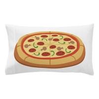 Pizza Pillow Case by Hopscotch10