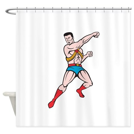 Curtain superhero shower curtain superhero princesses twins click for