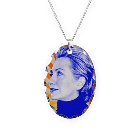 Hillary Clinton Necklace by TheLiberalWise