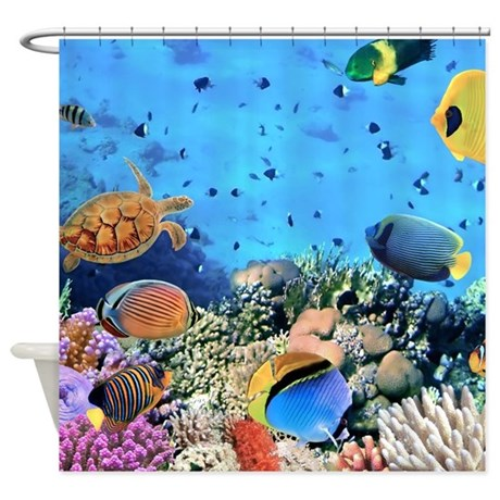 Sea Life Shower Curtain By BestShowerCurtains