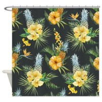 Tropical Shower Curtain by BestShowerCurtains