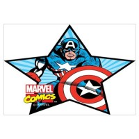 Captain America Star Wall Art Wall Decal
