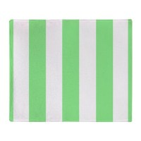 Lime Green Stripes Throw Blanket by stripstrapstripes