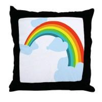 Rainbow Pillows, Rainbow Throw Pillows & Decorative Couch ...