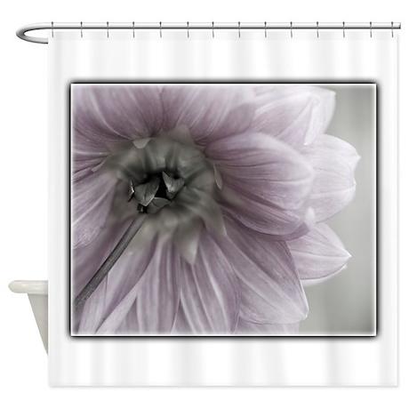 Light Pink Flower Shower Curtain by OliviaPhotoArt