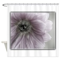 Light Pink Flower Shower Curtain by OliviaPhotoArt