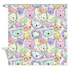Cool Cats Shower Curtain