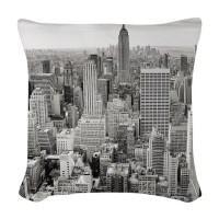 New York City Skyline Pillows, New York City Skyline Throw