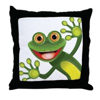 Frog Pillows, Frog Throw Pillows & Decorative Couch Pillows