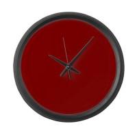 Red Clocks | Red Wall Clocks | Large, Modern, Kitchen Clocks