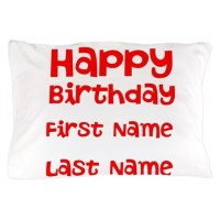Happy Birthday Pillow Covers | Pillow Cases | Throw Pillow ...