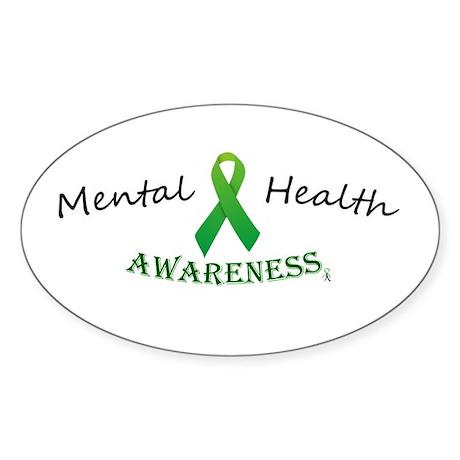 Mental Health Awareness Ribbon Decal by SeasonsofBipolar