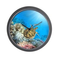 Sea Turtle Wall Clock by BestGear