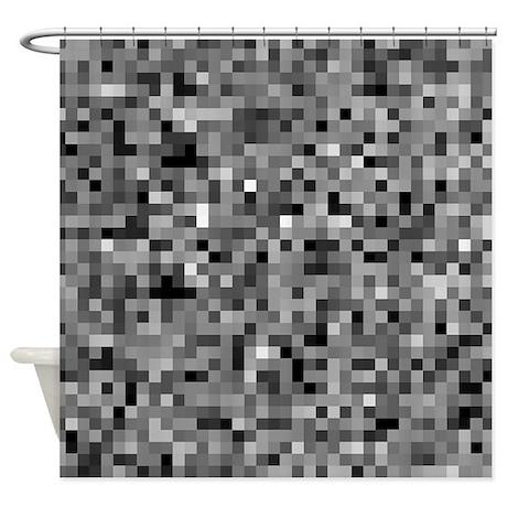 Mosaic Shower Curtains Mosaic Fabric Shower Curtain Liner